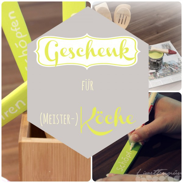 diy geschenk f r kochbegeisterte limettengr n. Black Bedroom Furniture Sets. Home Design Ideas