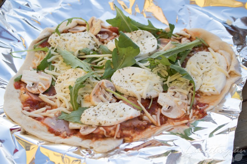 Pizza vom Grill-5947